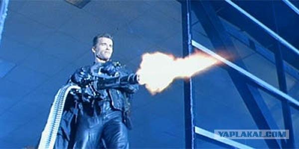 Карусель смерти: Пулемет Гатлинга.
