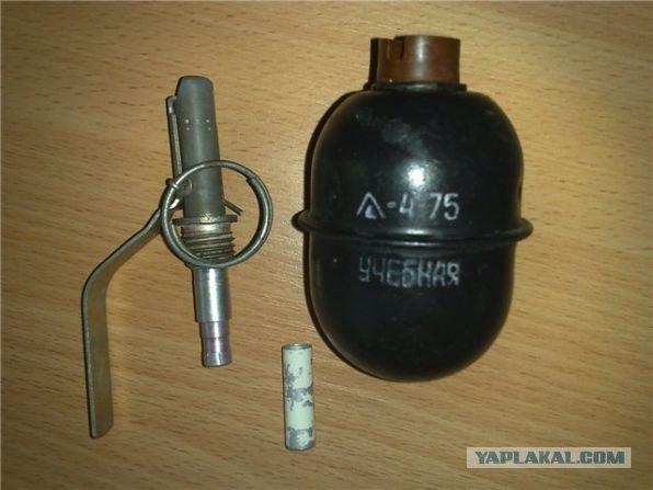 Найдена граната Ф-1