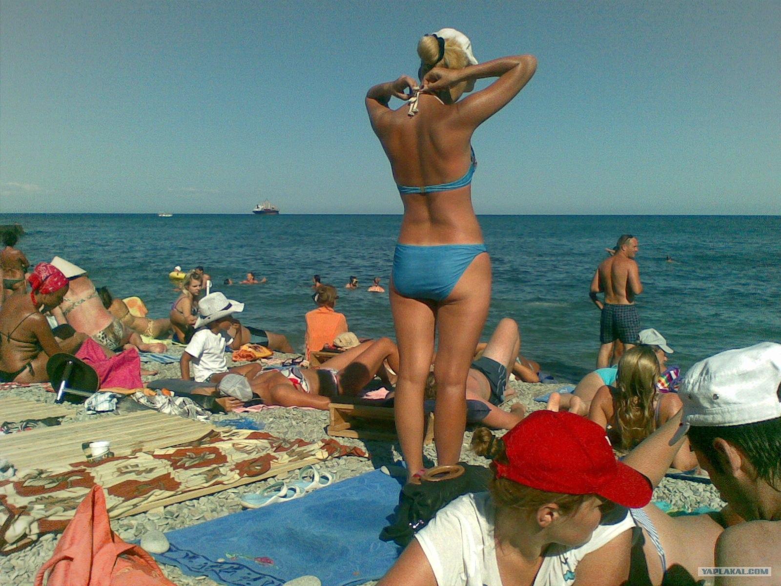 Пляжи ялты девушки фото