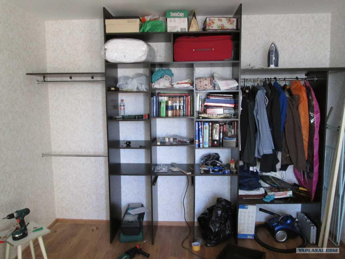 Шкафы своими руками в домашних условиях