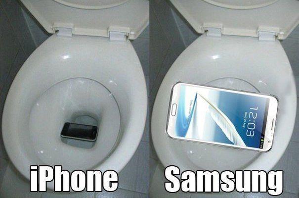 Что делать если уронил айфон в унитаз