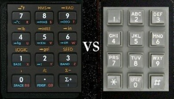 Почему клавиши на телефонах и калькуляторах расположены по-разному