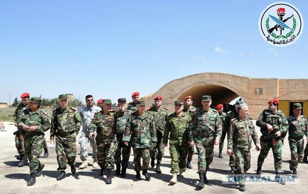В Сирии заработала база, попавшая под удар США