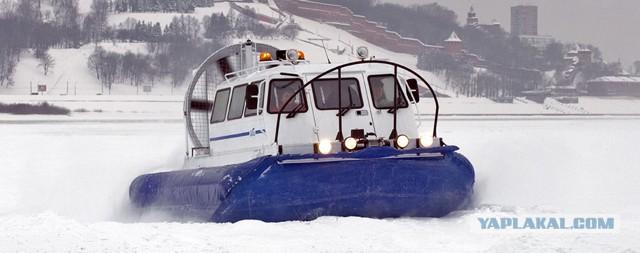 судна на воздушных подушках для рыбаков