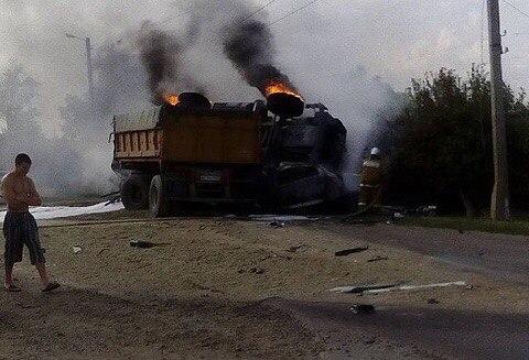 15-летний сын судьи из Брюховецкого района на Кубани попал в аварию на маминой машине и заживо сгорел