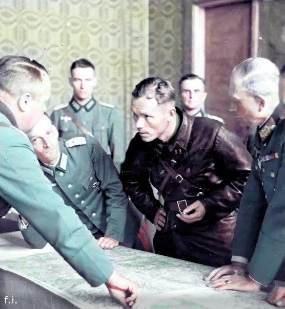 Раскрашенные фотографии Великой Отечественной