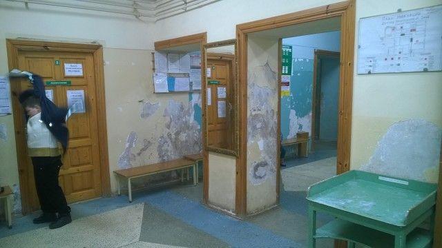 Так выглядит детская (детская, блин!) государственная поликлиника Вышнего Волочка