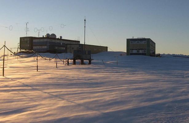Загорелась российская антарктическая станция