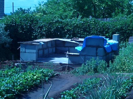 Как я строил баньку на даче