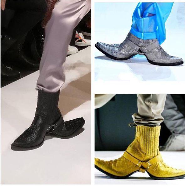 Самые модные сапоги сезон
