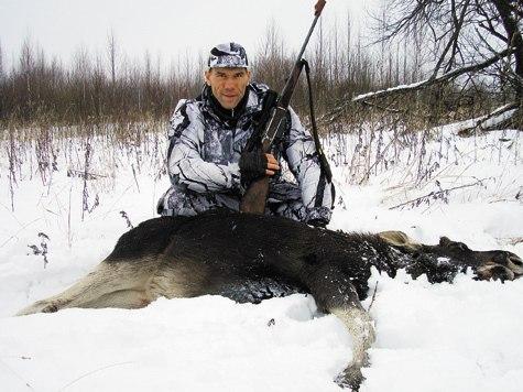 Валуев на охоте