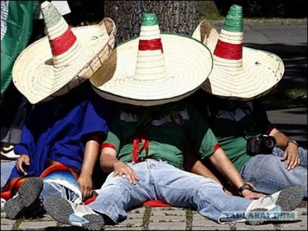 Мексика. 5 000км (алкогольный трамвайчик)