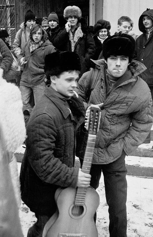 Проводы в армию, 1988 год(фото)