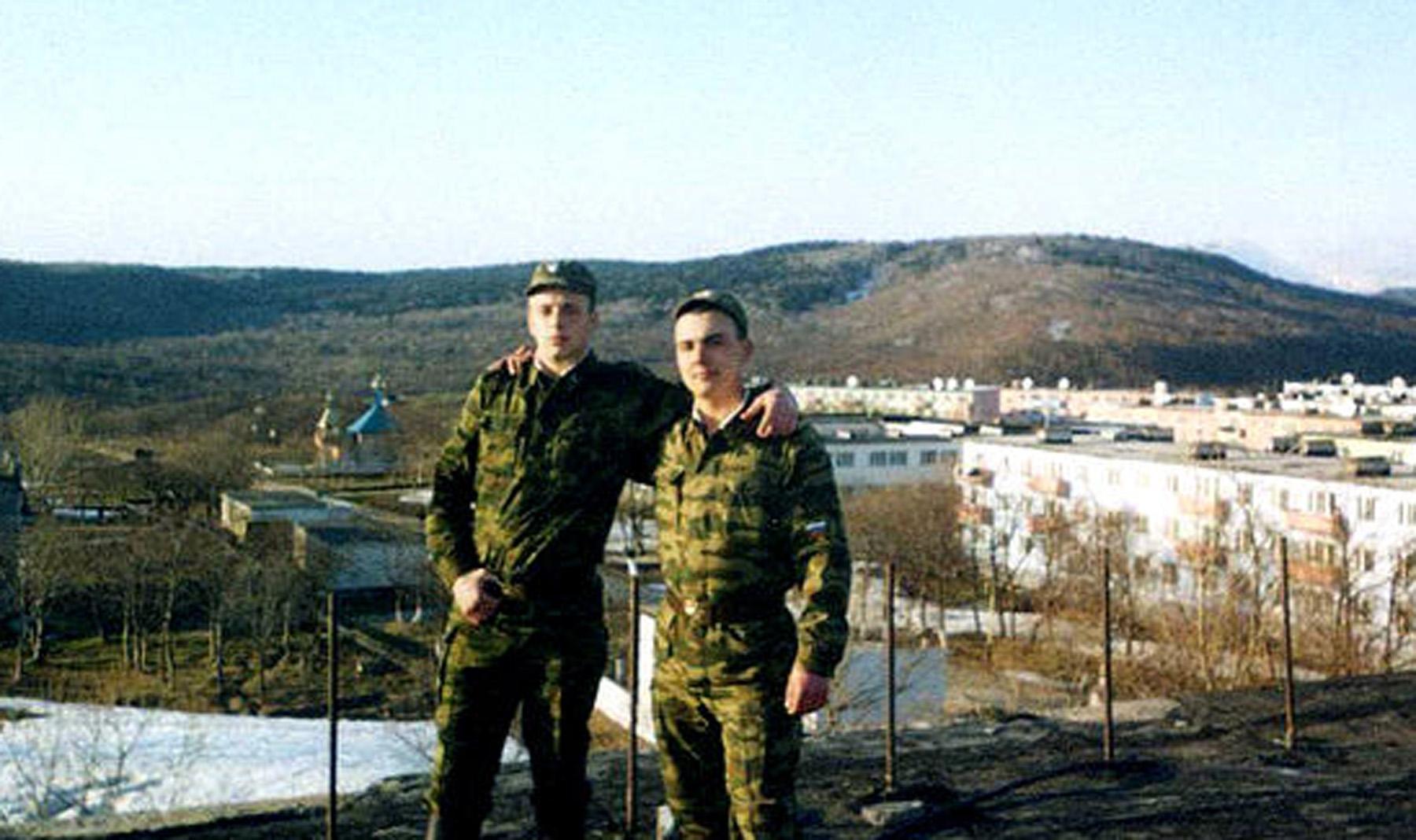 Воинская часть, где проходила военная служба
