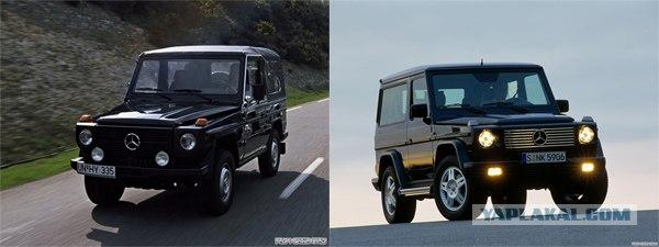 Авто - тогда и сейчас.