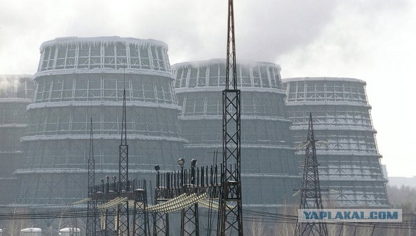 Энергоблок АЭС с реакторами на быстрых нейтронах