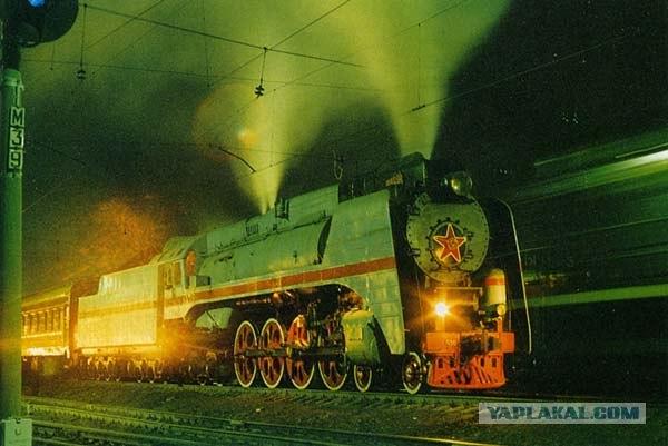 """4. Сей паровоз на советских железных дорогах звали  """"генералом """" и было за..."""