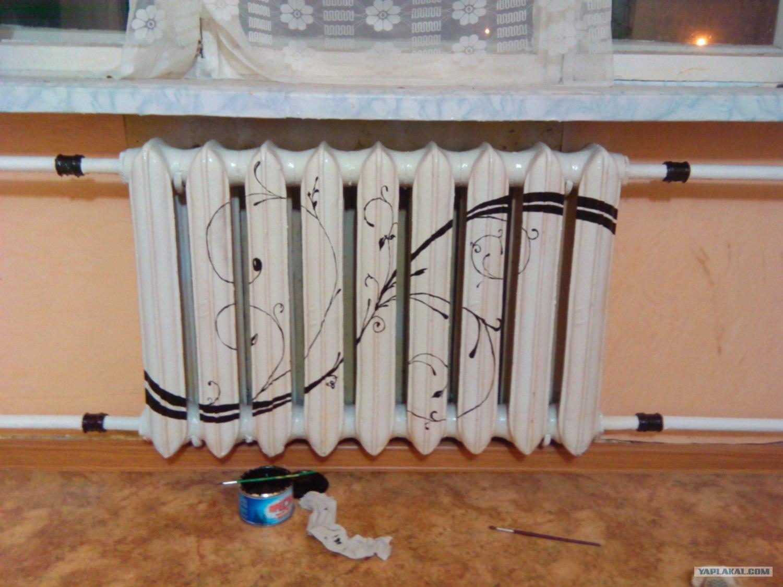 Радиаторы для отопления своими руками фото