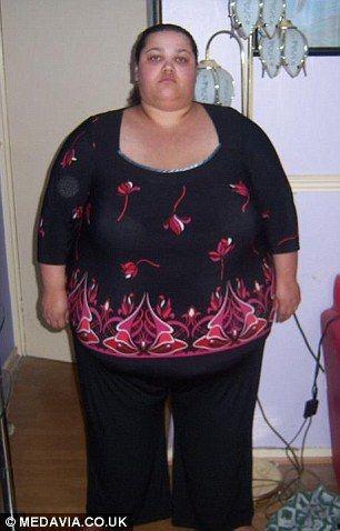 Похудела на 127 кг, отказавшись от помощи врачей