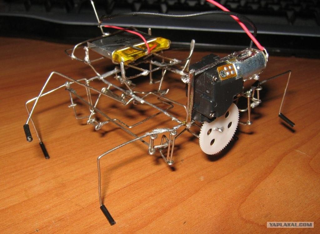 Сделать домашнего робота своими руками