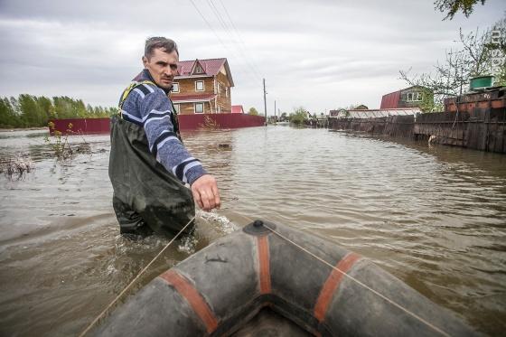 Рекордное за 50 лет наводнение в Новосибирске