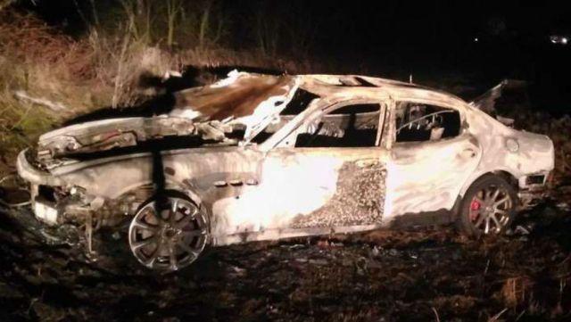 Как в Белоруссии разоблачили инсценированную аварию Maserati Quattroporte