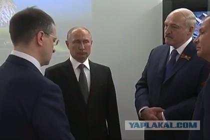 Лукашенко в присутствии Путина озадачил Мединского.