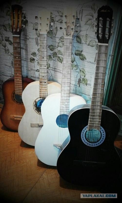 Гитара самодельная ver. 2.0