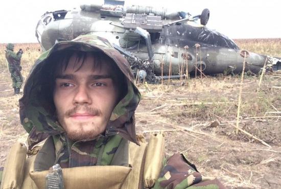 Ополченцы сбили загадочный вертолет