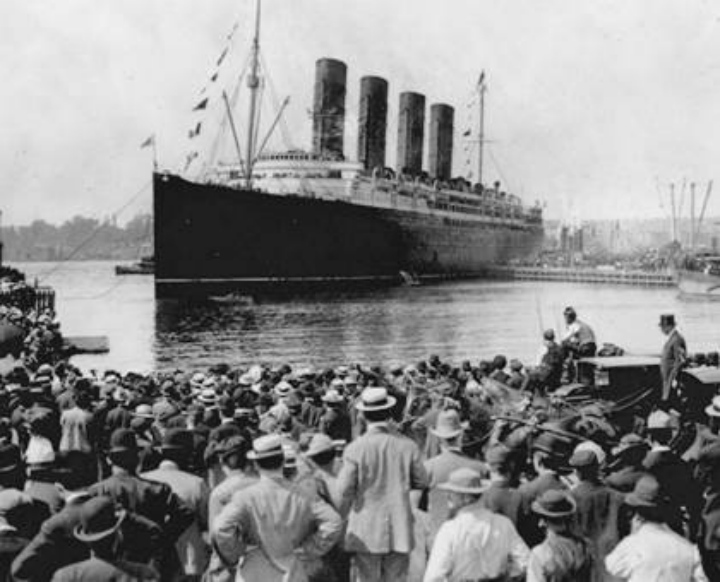 a discussion on the history of the lusitania during the world war i