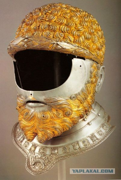 Боевые шлемы эпохи рыцарских турниров.