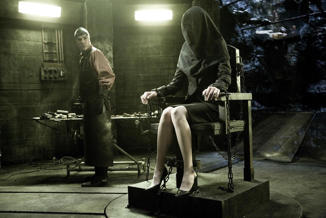 Пытки женщин током