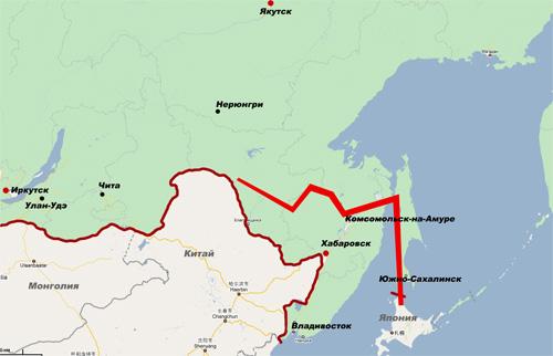 Россия предложила Японии строительство моста Хоккайдо-Сахалин