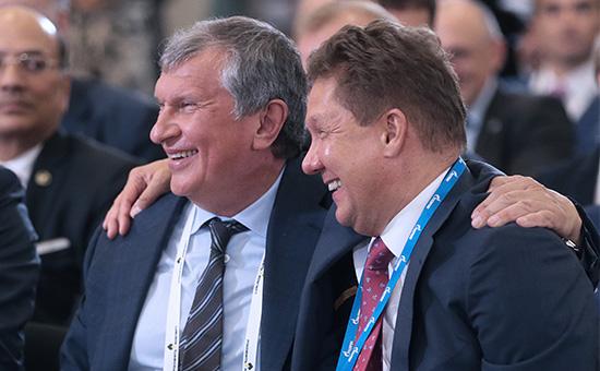 Сечин и Миллер попросили Медведева засекретить закупки госкомпаний