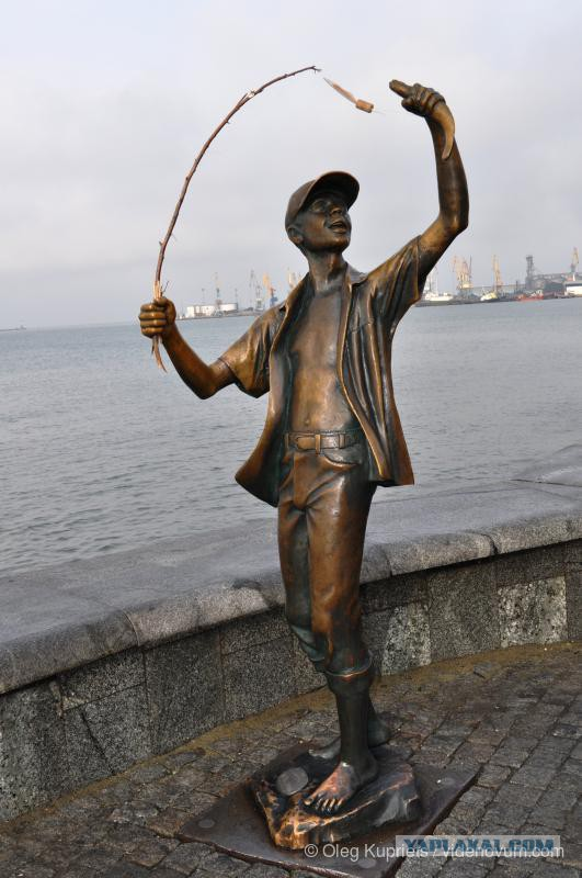 памятник рыбак в сосногорске