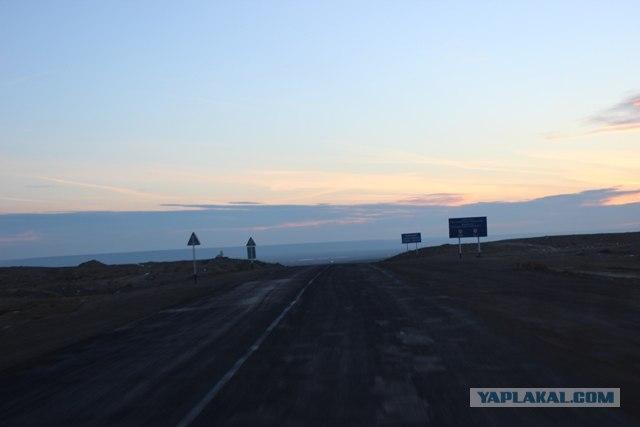 До туркменской границы и обратно