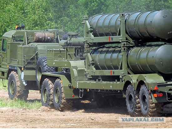 """С-400 """"Триумф"""" заступил на боевое дежурство"""