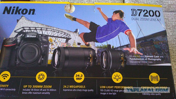 Продаю Nikon D7200, Lens 18-55 mm, Lens 70-300 mm, сумка