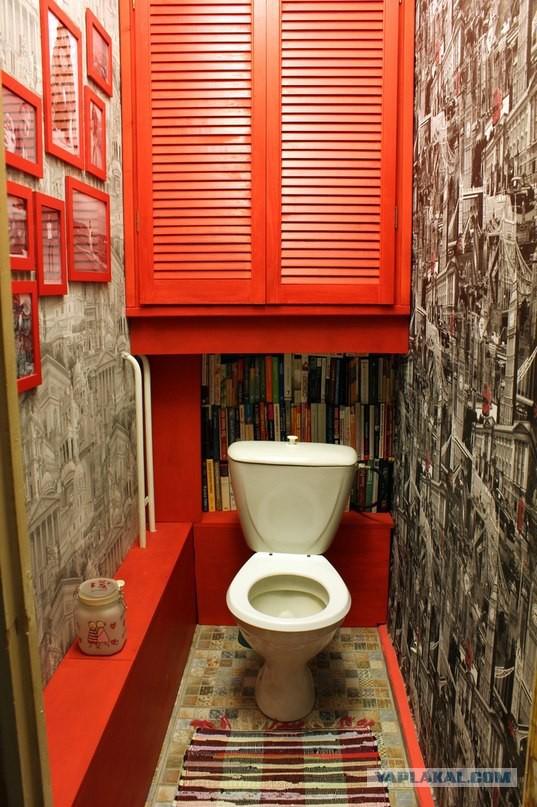 Туалет ремонт идеи фото