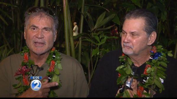 Два гавайца дружили всю жизнь и только спустя 60 лет узнали, что они братья