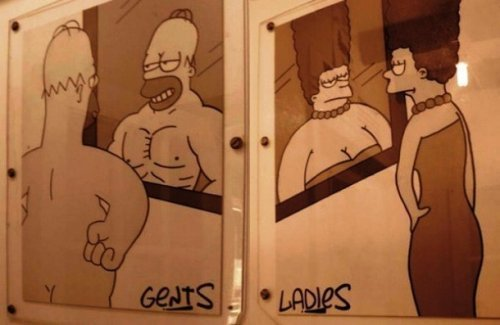 Туалетный креатив