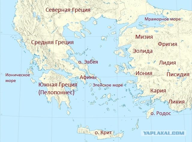 Битва при Марафоне, в далеком 490 году до н.э.