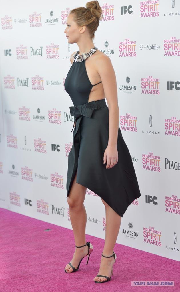 Скандальные платья знаменитостей за 2013