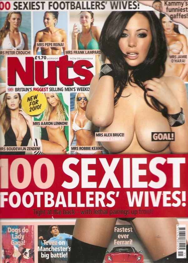 Сексуальные жёны футболистов.