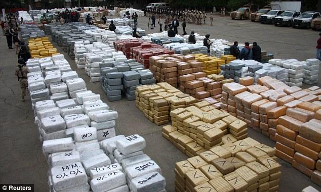 Полиция случайно нашла 105 тонн марихуаны