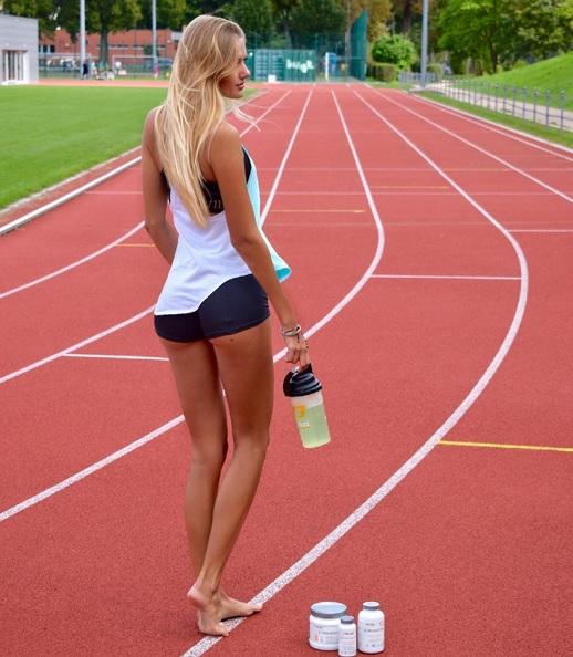 18-летняя немецкая бегунья стала самой сексуальной атлеткой