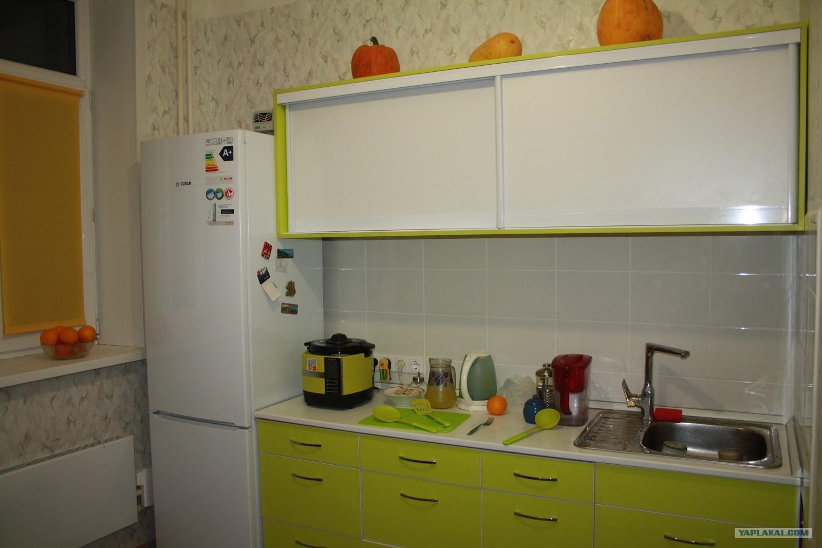 Фото как я делал ремонт в кухне