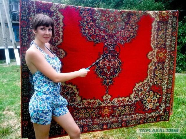 Симпатичные ковры.
