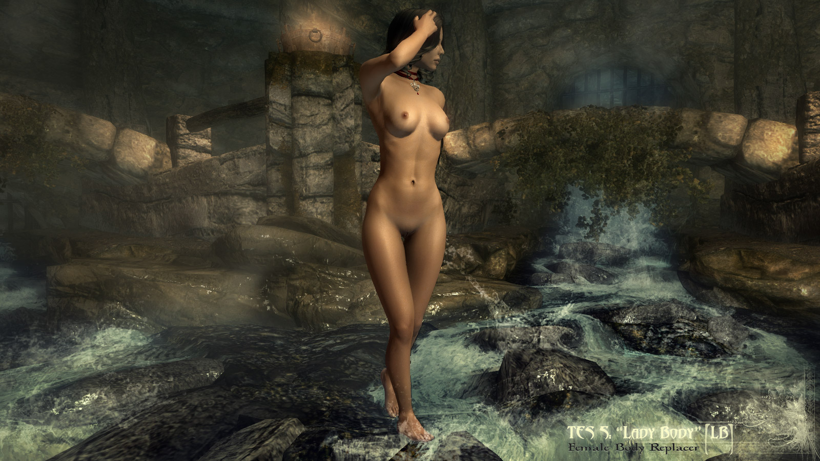 Femal nude skyrim cartoon sensual girl