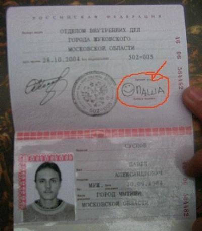 Образцы Росписи В Паспорте - фото 4